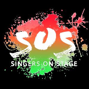SOS singers on stagewhite